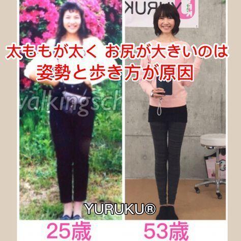 【太ももが太く お尻が大きいのは立ち方と歩き方が原因】 筋トレ・ストレッチなどなど何をやっても下半身太りが解消しなかった私が、40歳で体を変え、歩くことと呼吸のみで50代の今もスタイル維持できるようになった方法が「YURUKU®」です。 #太もも痩せ#美脚#反り腰#お尻大きい#太もも太い#筋トレ#ストレッチ#トレーニング#姿勢#歩き方#ウォーキング#呼吸#YURUKU#YURUKUウォーク #フィットネス