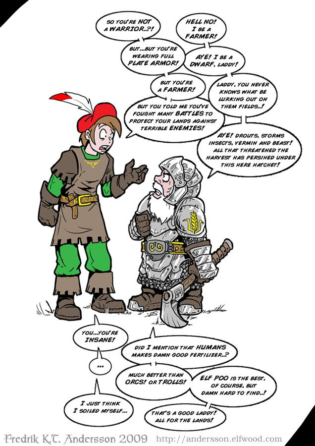 Pin by Oakleif on Andersson's Elfwood | Dnd funny, Funny ...