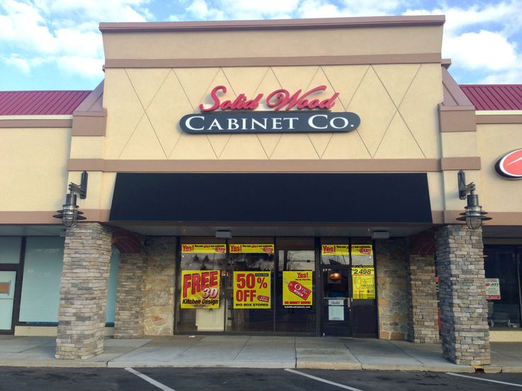 The Solid Wood Cabinets Company In Springfield, PA! Springfield Shopping  Center 783 West Sproul
