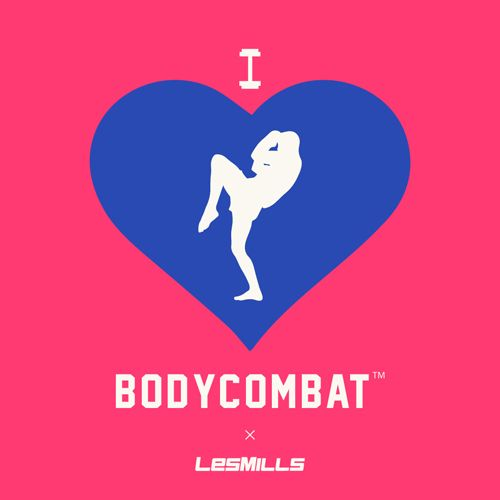 Valentines cards - Les Mills style