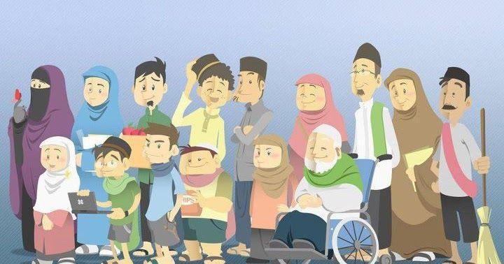 Paling Keren 30 Gambar Kartun Keluarga Sholat Berjamaah Di 2020