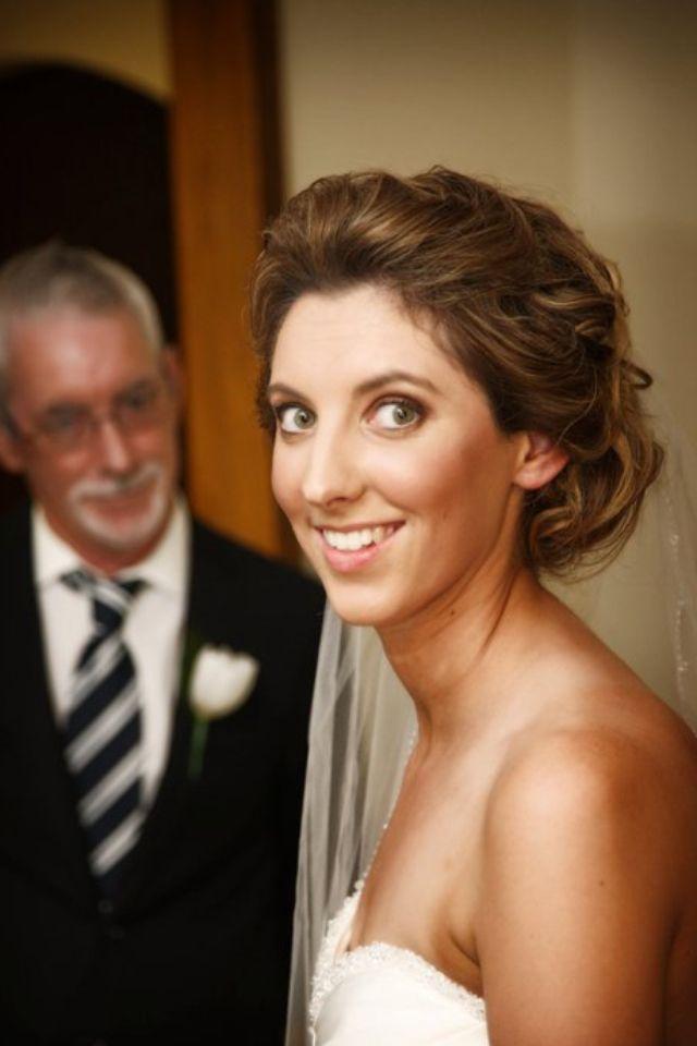 Beautiful timeless bride