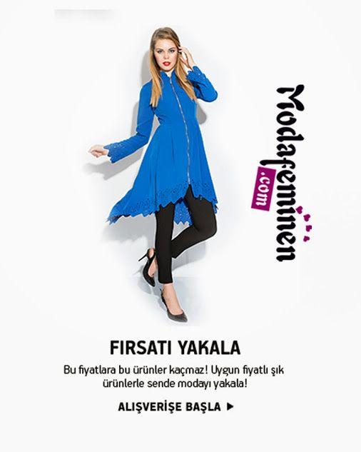 ✔Gardırobunuzu sonbaharın favori rengi #mavi ile boyuyoruz!  #ironi, yeni sezona özel ürünleriyle #bugün Modafeminen'de!  ☛Hemen İnceleyin: http://www.modafeminen.com