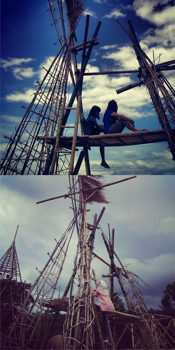 Main Kuda Kudaan, Lombok International Bamboo Architecture Festival 2013 #bamboo #architecture #beaches