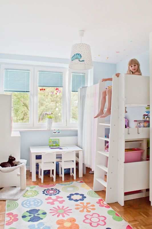 Mieszkanie z błękitną kuchnią