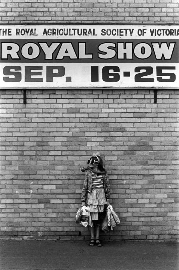 Sarah Maddison at the Royal Melbourne Show 1982, State Library of Victoria