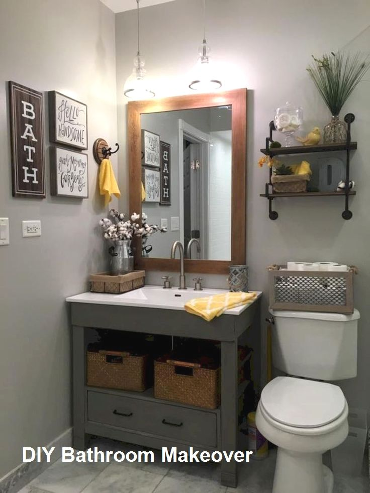 Pin On Bathroom Diy