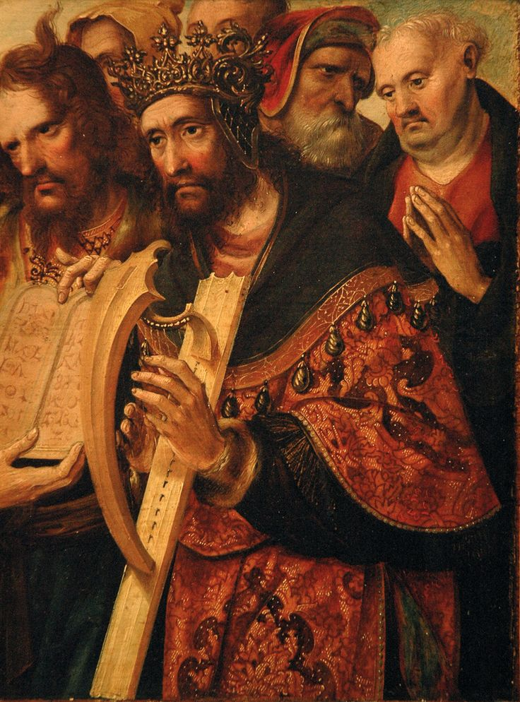 Cornelis Engebrechtsz (fl. Leiden 1460/5-1525), Christ as the good shepherd, detail