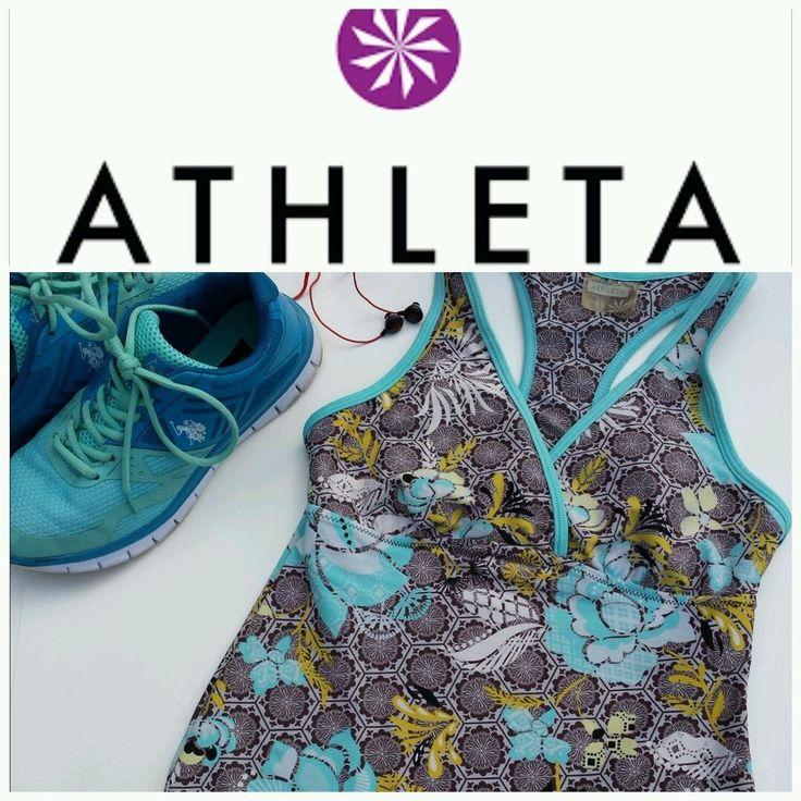 Athleta Womens XXS Razor back Yoga Athletic Tank Workout Removable Pads #Athleta #ShirtsTops