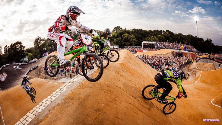 Red Bull BMX Races   Sky HD Wallpaper