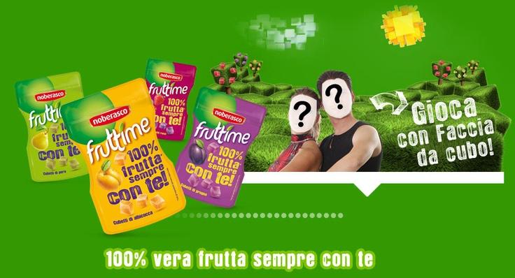 website: Noberasco Fruttime lo snack naturale, cubetti 100% frutta da portare sempre con te. Nei gusti prugna, albicocca, pera e frutti rossi. #website #frutta #packaging #snack