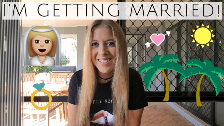I'M GETTING MARRIED! & Travel Plans