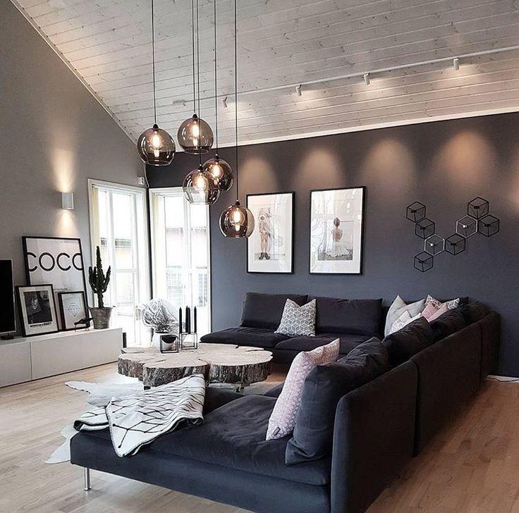 Indirekte Beleuchtung und Wohnraumbeleuchtung Wohnung