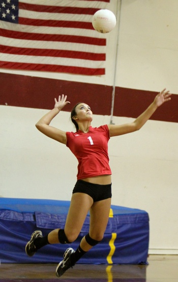 Volleyball is such a great sport to play, the training alone gets you in great shape.