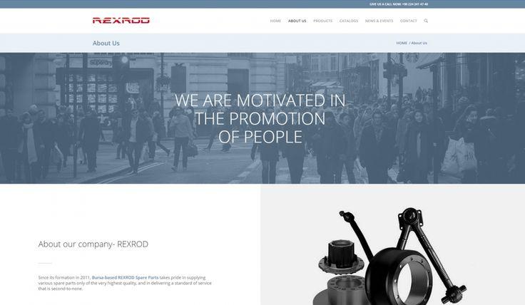 Rexrod Spare Parts Kontrol Panelli Web Sitesi 2 - Silüet Tanıtım Web Tasarım