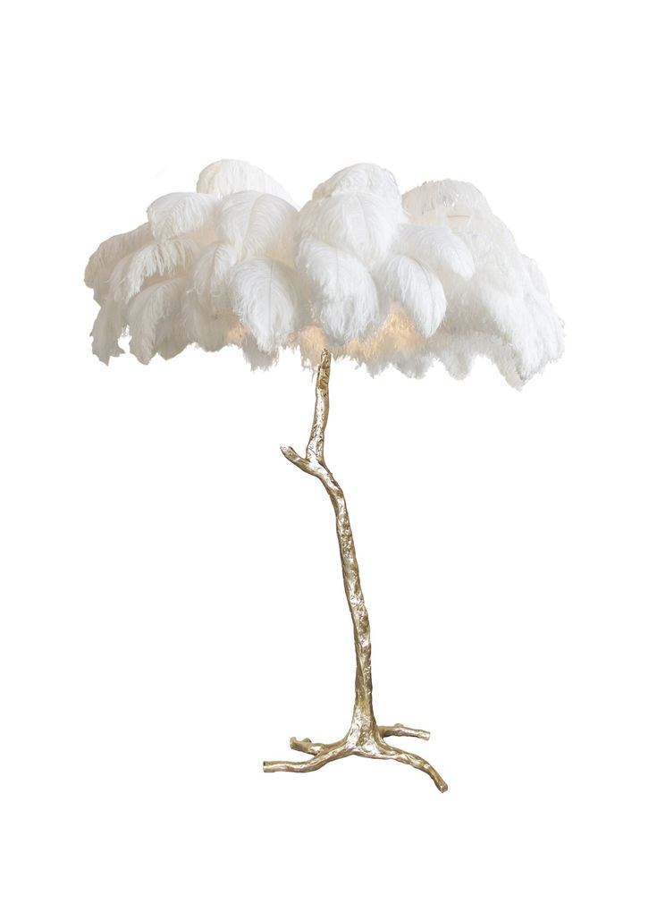 The Feather Floor Lamp Feather Lamp Floor Lamp Modern