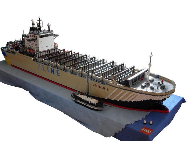 Container Ship by Tobigo