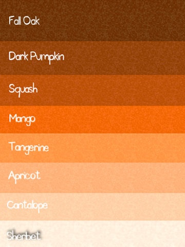 25 best ideas about orange paint colors on pinterest Shades of orange colour chart