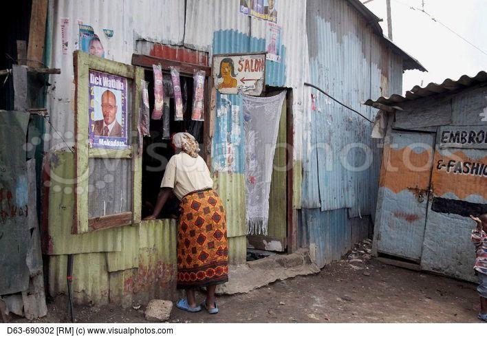 A Small Shop Of Mukuru Ruben A Slum Of Nairobi Kenya With Images