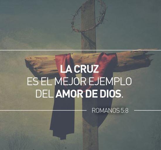 La cruz!