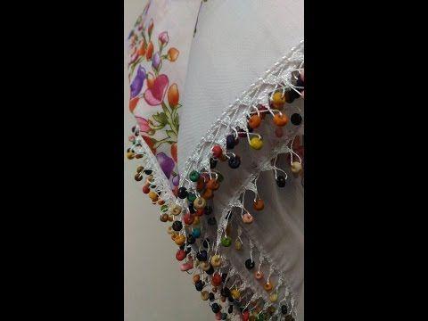 Tığ Oyası Örneği Yapılışı #6 HD Kalite - YouTube