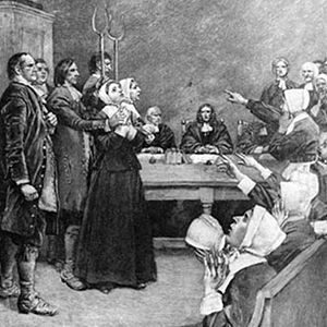 the salem witch trials as a dark chapter in american history Students consider how arthur miller interpreted the facts of the salem witch trials and of american history of the crucible, the witch trials.