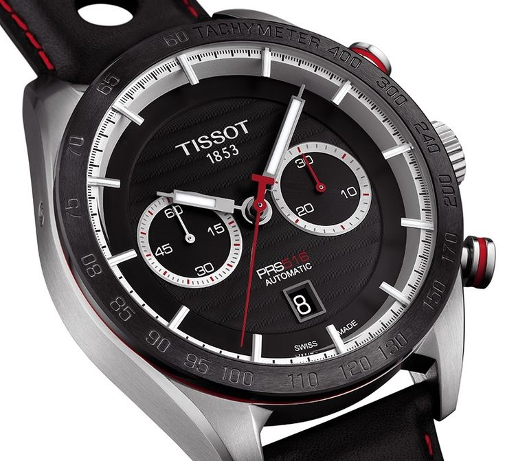 "Tissot PRS 516 Bi-Compax Chronograph Watch - see what it's all about on aBlogtoWatch.com ""With the increasing popularity of more sporty, retro-inspired watches, perhaps Tissot felt the need to remind us that they've been doing it all along. While Tissot's PRS 516 watches have always been retro- and racing-themed, the new Tissot PRS 516 chronograph watches for 2015 feel even more so, and yet fresh and more refined at the same time. This is the PRS 516 line upgraded in almost every way..."""