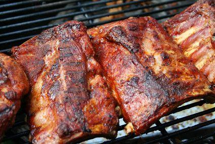Travers de porc à la texane, grillés au barbecue