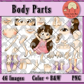 Body Parts *Bundle* Clip Arts| Clip Art| Asian Style Clip Art| Body Parts| Science| https://www.teacherspayteachers.com/Product/Body-Parts-Bundle-Clip-Arts-3442405?utm_source=Pinterest&utm_campaign=Body%20Parts%20Clip%20Art
