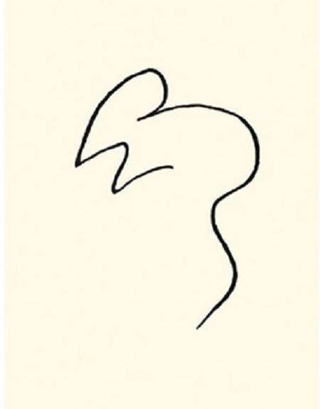 Picasso Line Drawing Tattoo : Pablo picasso quot la souris the mouse on artstack