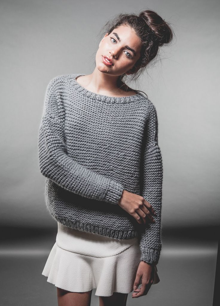 I simply cannot wait to knit this up! The Classic Sweater from @weareknitters