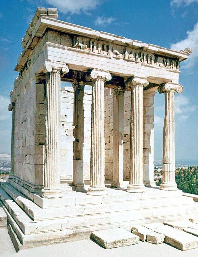 Niké áptera Arquitectura Griega Arquitectura Griega Antigua Grecia Arquitectura
