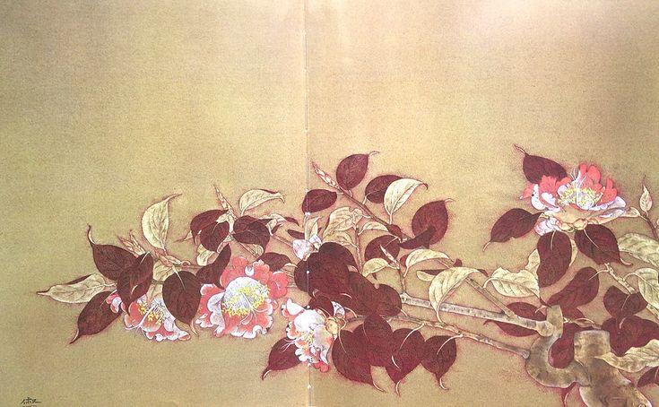 大野俶嵩の花(おおのひでたか) | 本地裕輔 日本画 WEBサイト
