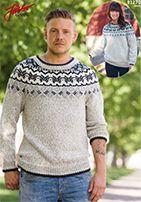 Men sweater Järbo Raggi