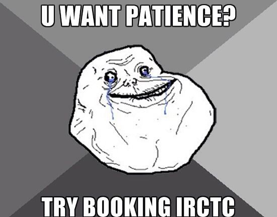 6 funniest IRCTC Indian Railways website Jokes