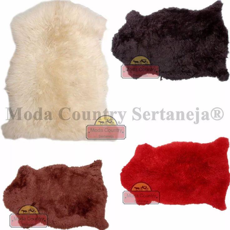 pelego/tapete natural pele de carneiro sala quarto poltrona