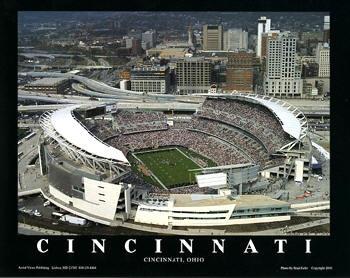 NFL Cincinnati Bengals ~ Paul Brown Stadium ~ Cincinnati, Ohio