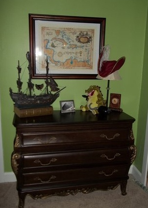 Love this for a little boys room - based on Peter Pan / Neverland