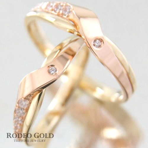 Gold engagement rings TCR18113