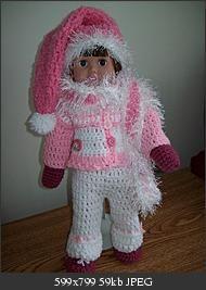 Snowsuit Crochet Pattern for American Girl doll