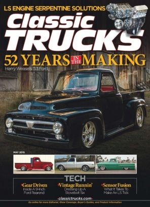 Classic Trucks May 2015 edition - Read the digital edition by Magzter on your iPad, iPhone, Android, Tablet Devices, Windows 8, PC, Mac and the Web.