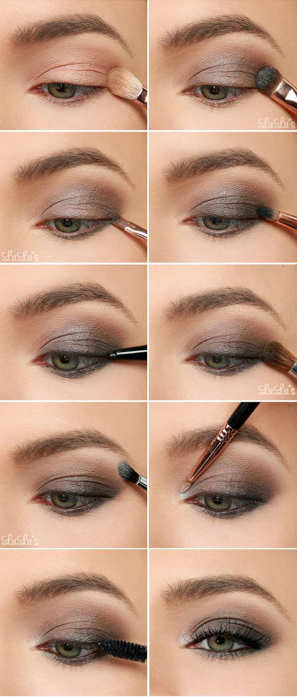 17 meilleures id es propos de maquillage de yeux gris sur pinterest smoky eye tutoriel de. Black Bedroom Furniture Sets. Home Design Ideas