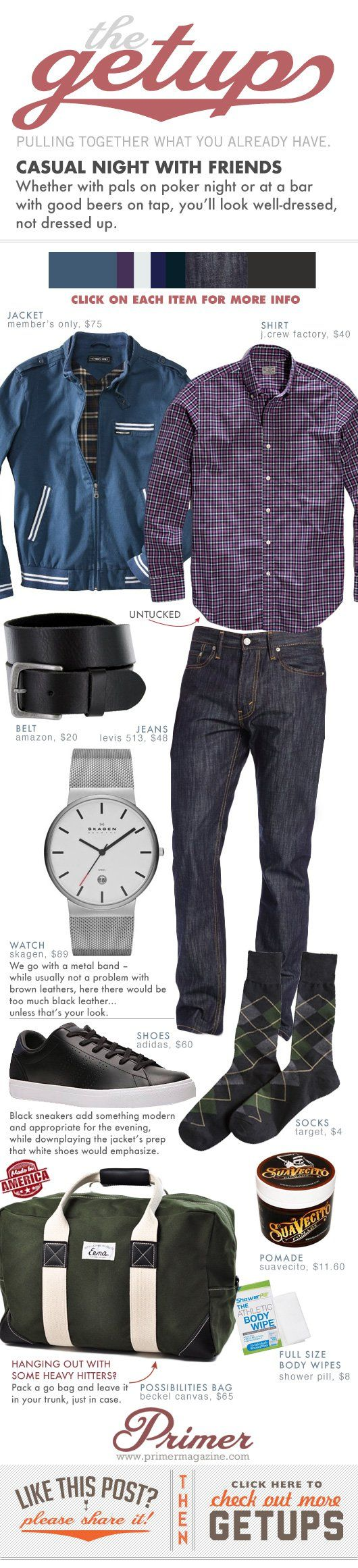 The Getup: Casual Night with Friends   Primer