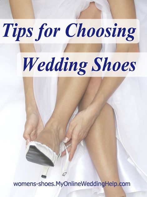 Tips for Choosing Bridal Shoes | My Online Wedding Help Blog