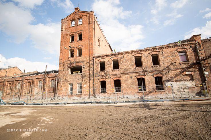 Rozpoczęła się rewitalizacja budynku Rektyfikacji, tu znajdzie się #MuzeumPolskiejWódki #postindustrialspaces #postindustrial