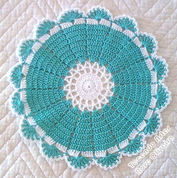 circle w/a lovely edging