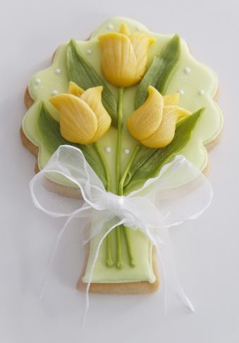 Tulip, Cookies and Spring on Pinterest