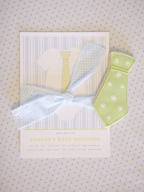 Karas Party Ideas Little Guy In A Tie Baby Blessing