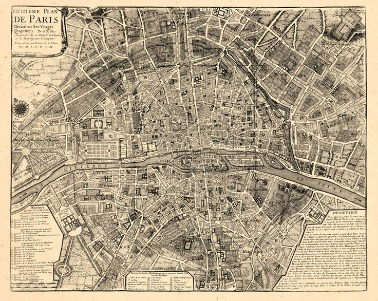 Vintage Paris Map Wallpaper Annika Paris Ideas