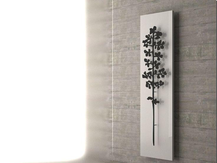 Scaldasalviette a parete NATURE SALICE Collezione Nature by K8 Radiatori | design Marco Pisati
